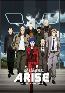 Koukaku Kidoutai Arise: Ghost In The Shell – Border:1 Ghost Pain